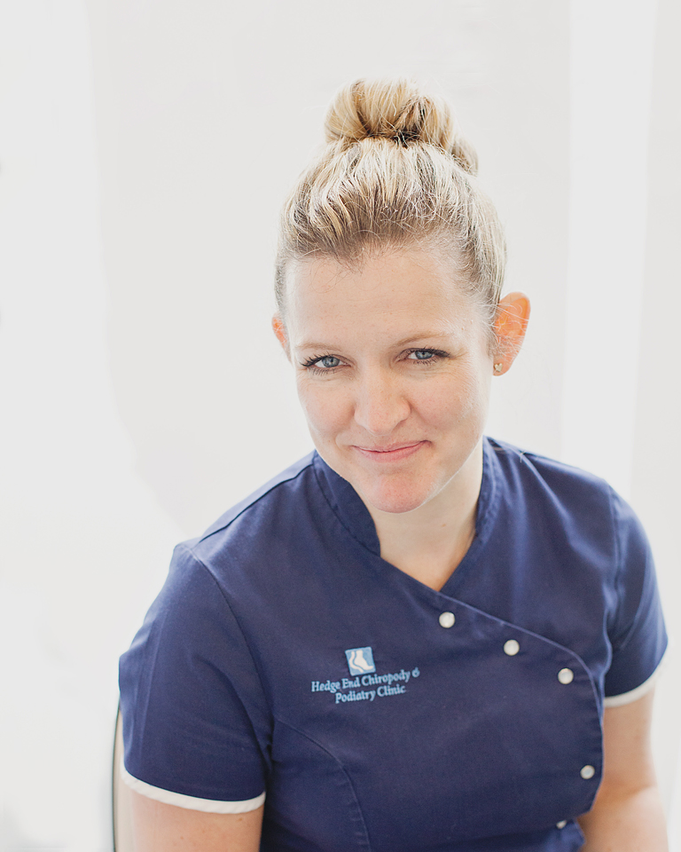 Hedge End Podiatry and Chiropody Clinic Personal Branding Environmental Headshot by Moira Lizzie Photography