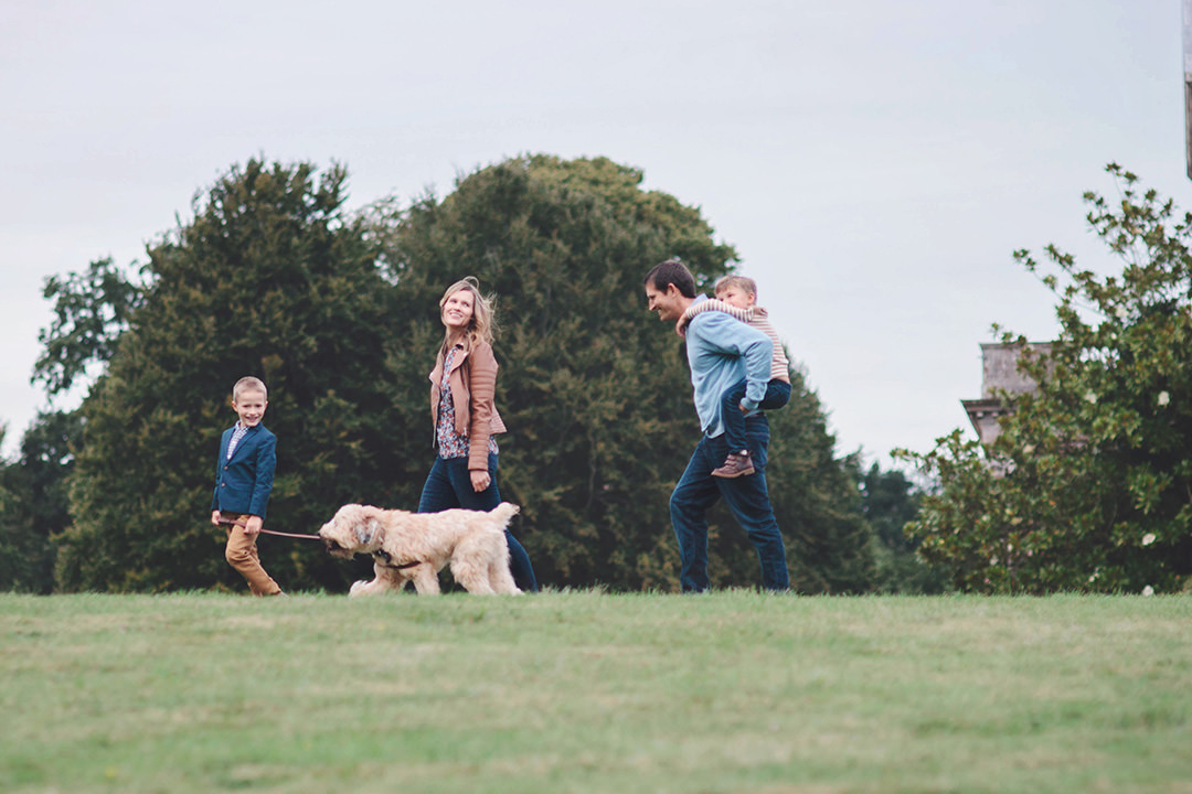 Family photoshoot at Stansted House by Moira Lizzie Photography