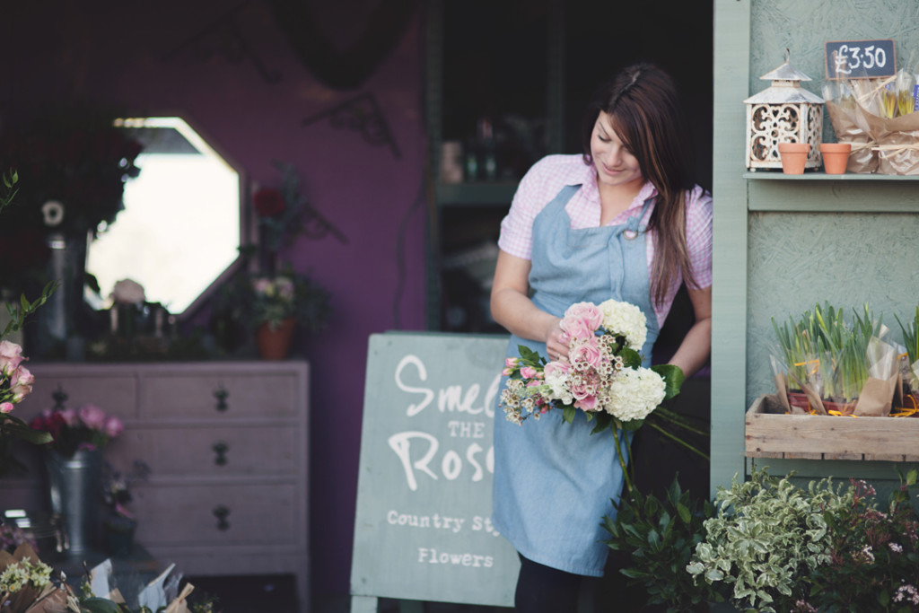 Personal branding image of Smell the Roses florist
