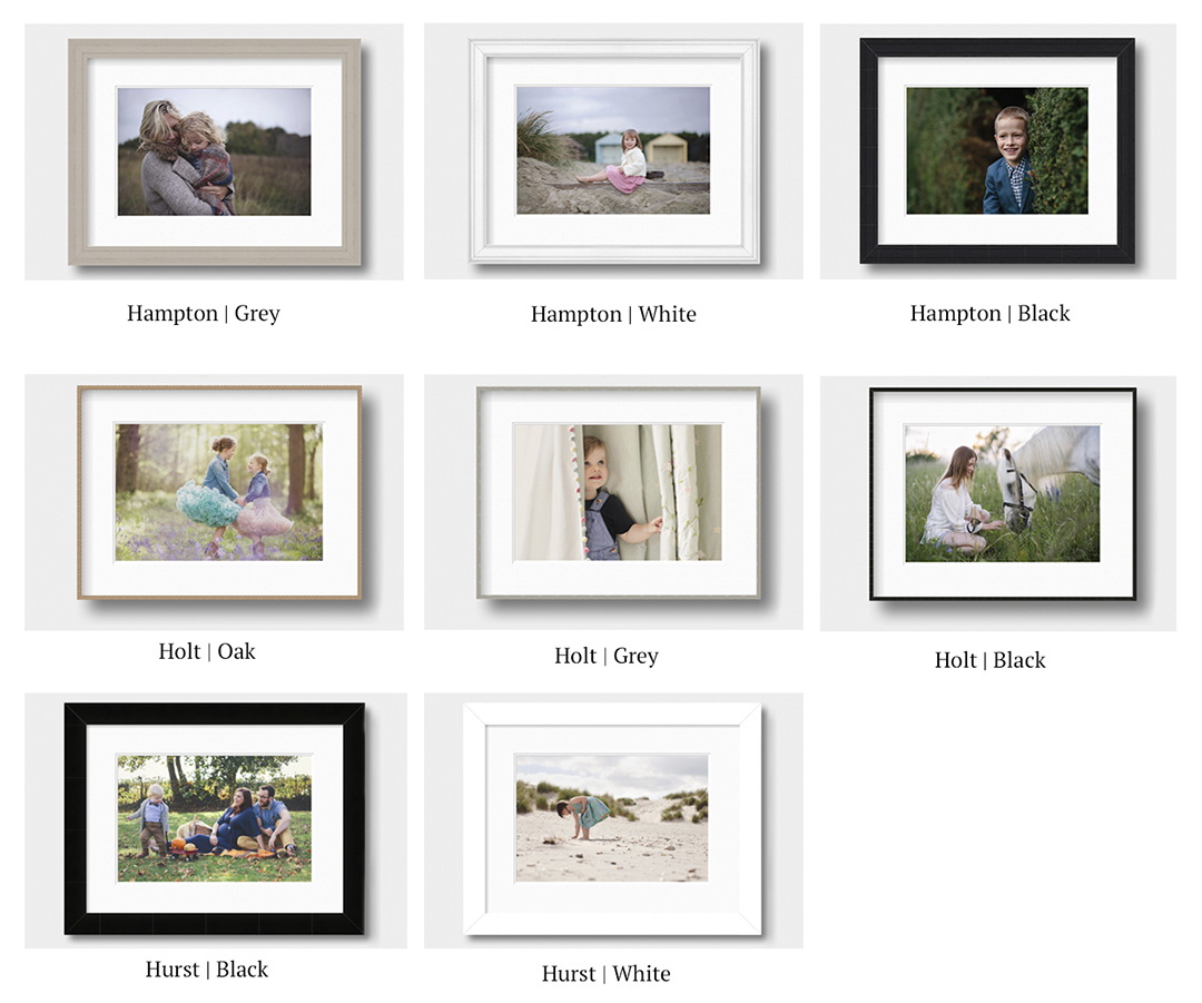 Framing Collection from Moira Lizzie Photography