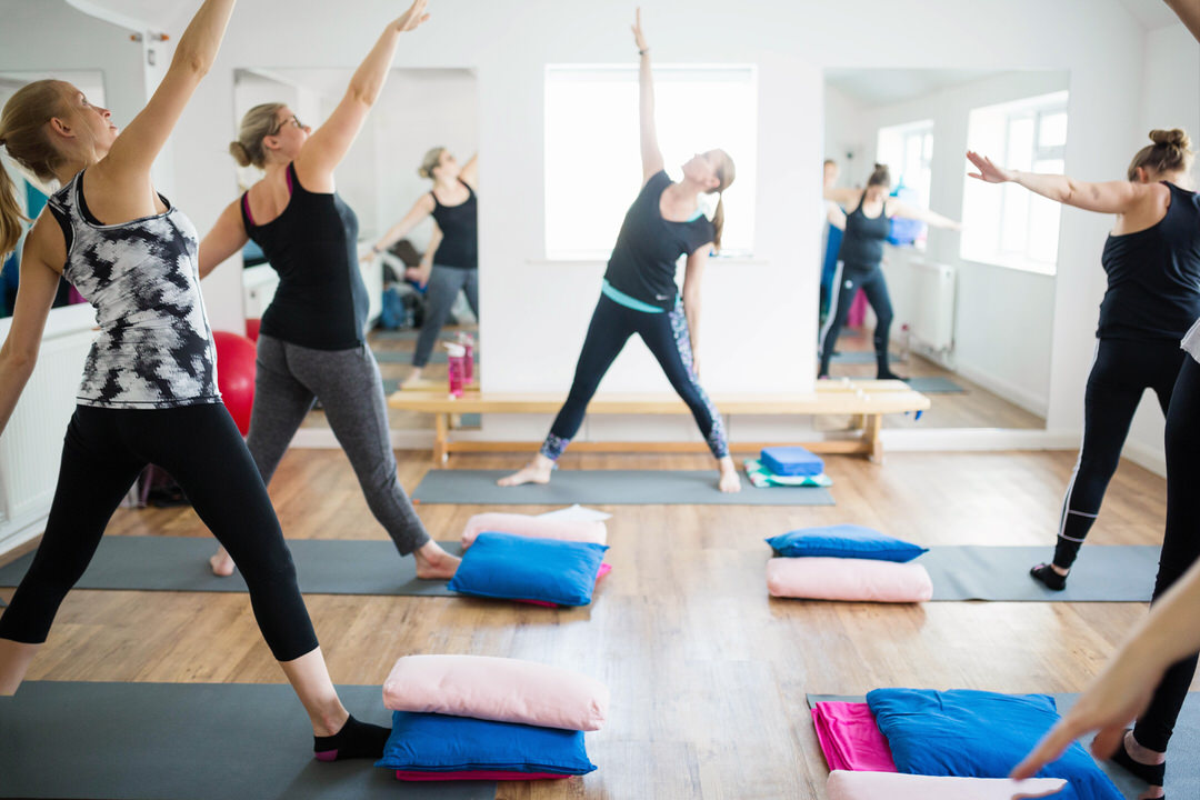 Prega-Mummas pregnancy yoga class