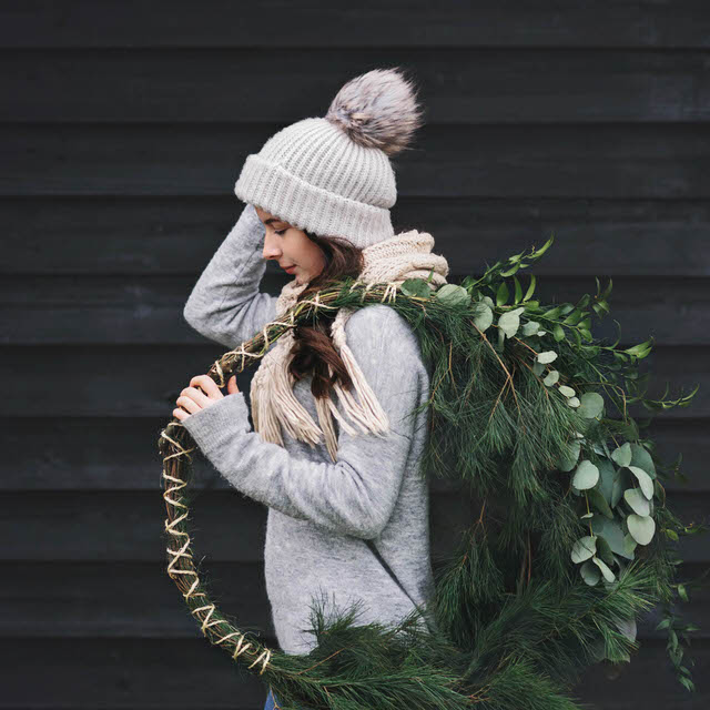 Nordic Wreath Styled Session