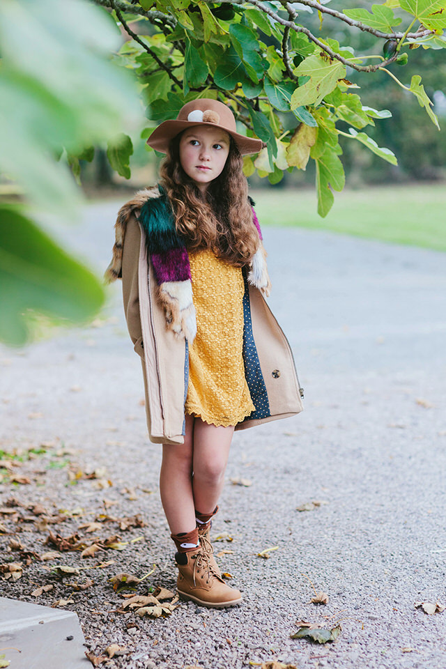 Image of girl wearing Pantone 2021 inspired colour palette by Moira Lizzie Photography